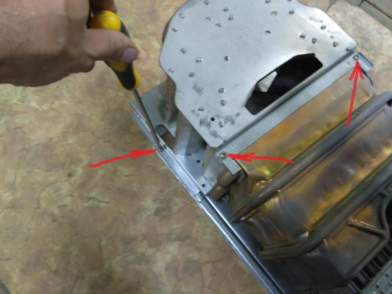 Как снять теплообменник в колонке юнкерс Паяный теплообменник-испаритель Машимпэкс (GEA) NP 4AE Мурманск
